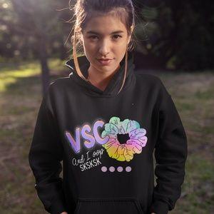 SKSKSK and i oop hoodie, vsco girls hoodie